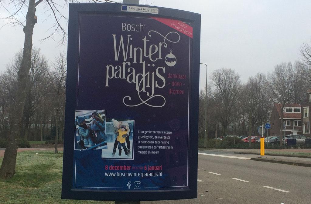 Bosch' Winterparadijs ~ branding