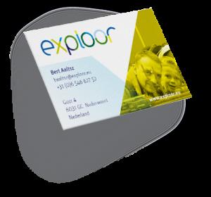 Visitekaartje Exploor